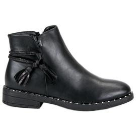 Filippo Platte laarzen Dames zwart