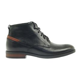 Laarzen zwart geknoopt Pilpol 6030