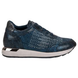 Kylie Modieuze sportschoenen blauw