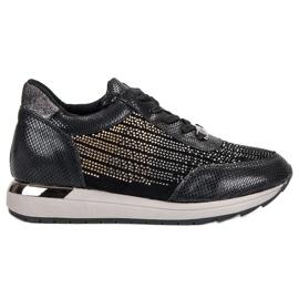 Kylie Modieuze sportschoenen zwart