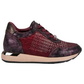 Kylie Modieuze sportschoenen rood