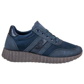 Kylie Navy Fashion Sneakers blauw