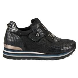 Aclys zwart Boots Sneakers