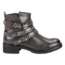 Sixth Sense grijs Rock Boots
