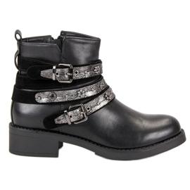 Sixth Sense zwart Rock Boots