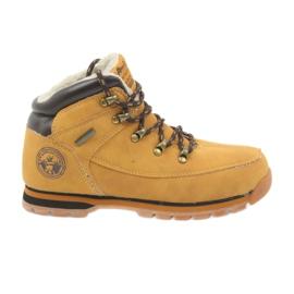 American Club Amerikaanse laarzen winterlaarzen 152619 camel geel