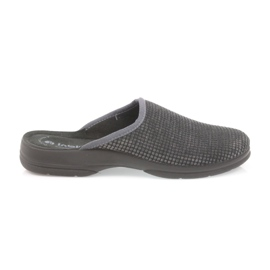 Inblu grijs Herenslippers grijze pantoffels