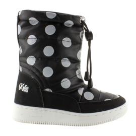 Zwart Kinderorthalion kniehoge laarzen k1646109 Negro