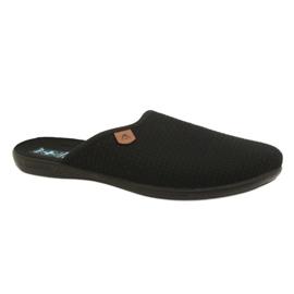 Zwart Slippers Adanex 21115 slippers