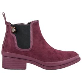 Kylie Booties Jodhpur-laarzen rood