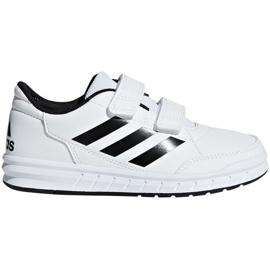 Wit Adidas AltaSport Cf Jr D96830 schoenen