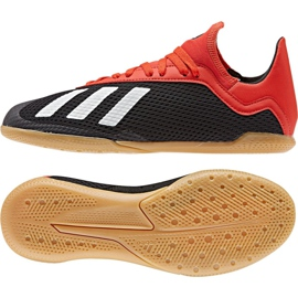 Binnenschoenen adidas X 18.3 Fg Jr BB9395 veelkleurig zwart