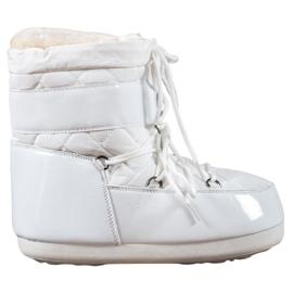 Wit Modieuze snowboots