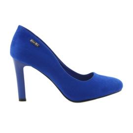 Sergio Leone Suede pumps 1457 blauw