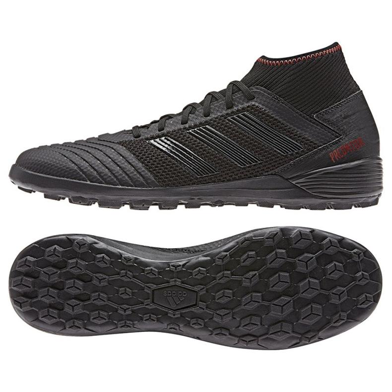 Voetbalschoenen adidas Predator 19.3 Tf M D97961 zwart zwart