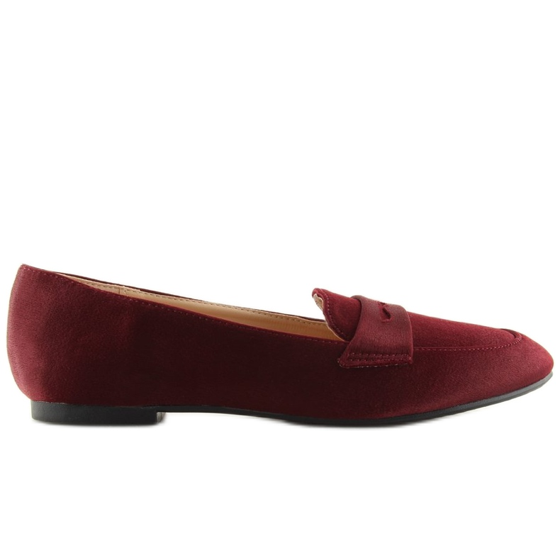 Mocassins dames bordeaux rood 3109 Rood