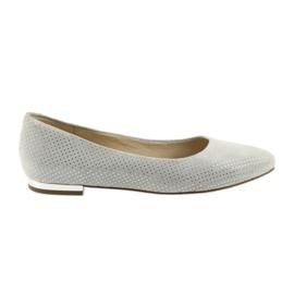 Caprice ballerina's schoenen voor dames 22104 grijs