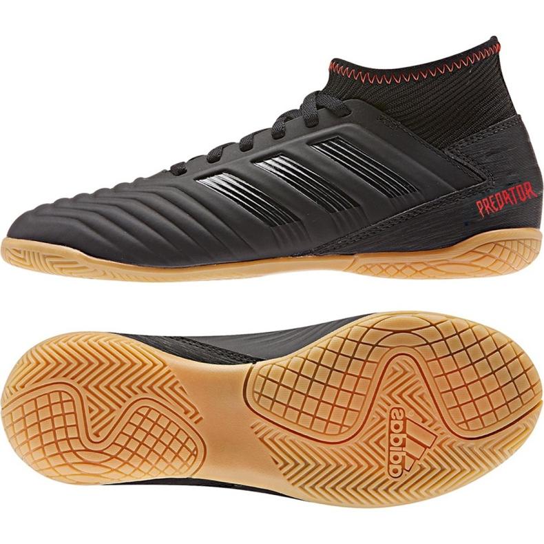 Binnenschoenen adidas Predator 19.3 In Jr D98015 zwart zwart