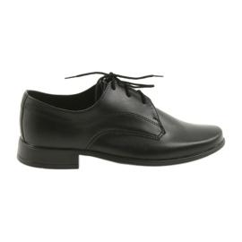 Miko schoenen kinderschoenen jongens communie zwart