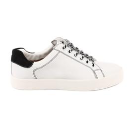 Witte sneakers voor dames Caprice 23203 verstelbare breedte