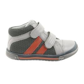 Ren But Boote schoenen Klittenbandschoenen Ren Maar 3225 grijs / oranje