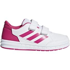 Wit Adidas AltaSport Cf K Jr D96828 schoenen