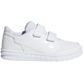 Wit Adidas AltaSport Cf K Jr D96832 schoenen