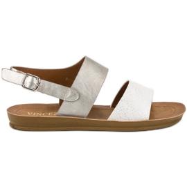 Grijs Comfortabele sandalen van VINCEZA