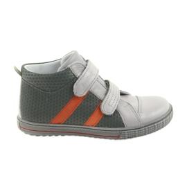 Ren But Boote schoenen kinderklittenband Ren 4275 grijs / oranje