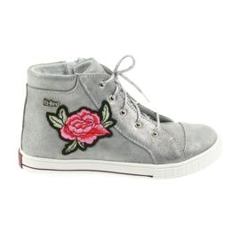 Ren But grijs Schoenen schoen meisjes zilver Ren Maar 4279