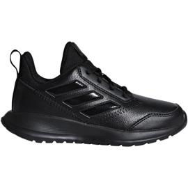 Zwart Adidas AltaRun K Jr. CM8580 schoenen