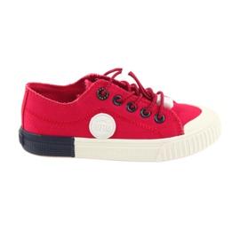 Big Star rood Rode grote sneakers Sneakers 374004