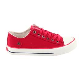 Sneakers gebonden rode Big Star 274339 rood