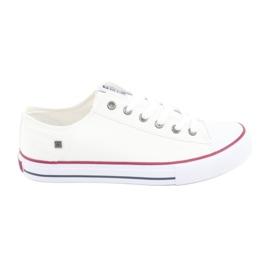 Big Star Sneakers gebonden wit 174271