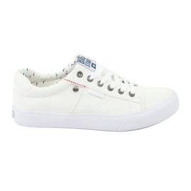 Big Star Heren sneakers gebonden wit 174097