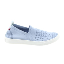 Big Star slipony instappers sneakers 274785 blauw