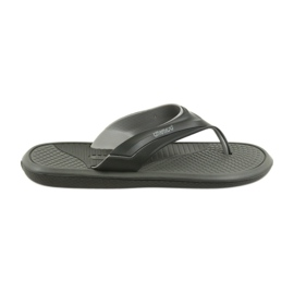 Atletico zwarte heren slippers