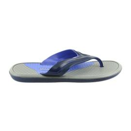 Atletico heren marineblauwe flip-flops