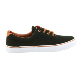 American Club Herenschoenen zwarte sneakers LH03