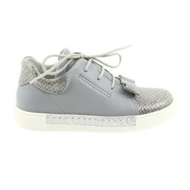 Ren But Ren schoenen 3303 grijze lederen schoenen grijs