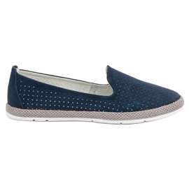 Filippo Leather Open Lords blauw