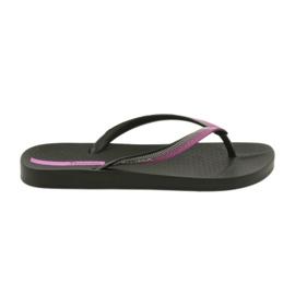 Japonki Ipanema Slippers 82518 Zwart / Lila