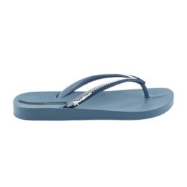 Slippers van Ipanema 82518 Blauw
