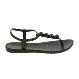 Ipanema sandalen damesschoenen flip-flops met ballen 82517 zwart