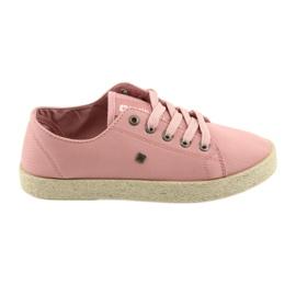 Big Star Ballerina's espadrilles damesschoenen roze Grote ster 274425
