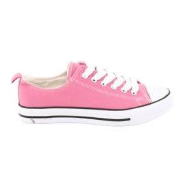 American Club Sneakers gebonden roze Amerikaanse Damesschoenen
