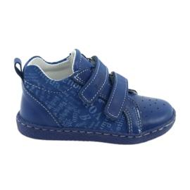 Blauw Medische kinderschoenen met klittenband Ren But 1429