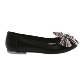 Damesschoenen met ballerina Sergio Leone 605 zwart