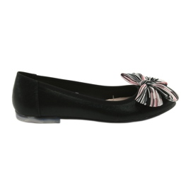 Zwart Damesschoenen met ballerina Sergio Leone 605