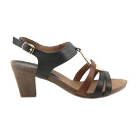 Caprice dames sandalen goud ovaal